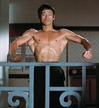 Bruce Lee Isometrics Lat Flex